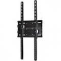 UNIVERSAL Portrait PMWB-01 Style Flat Wall Mount Bracket for LCD LED (Max 165Lbs, 32~65inch) - Black