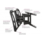 """Premier Mounts AM175 Swingout Mount for Flat-Panels up to 63"""" [AM175] FREE SHIPPING"""
