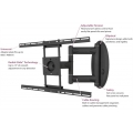 "Premier Mounts AM80 Swingout PLASMA , LCD & LED Mount for Flat-Panels up to 47"" [AM80] FREE SHIPPING"