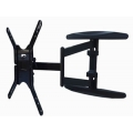 "UNIVERSAL  LAD-400B SINGLE ARM SUPER SLIM Articulating TV Mount, 86 lbs load, 1.69""-21"" extension, 20"" TO 55"" LED MOUNT FREE SHIPPING"