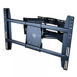 "DUAL ARM Adjustable Tilting/Swiveling Wall Mount Bracket for LCD LED Plasma (Max 200Lbs, 42""~63inch) 4"" TO 31"" EXTENSION FREE SHIPPING."