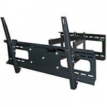 "DUAL ARM Adjustable Tilting/Swiveling Wall Mount Bracket for LCD LED Plasma (Max 132Lbs, 37""~63inch)"