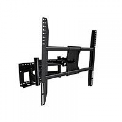 "DUAL ARM Adjustable Tilting/Swiveling Wall Mount Bracket for LCD LED Plasma EXTENDS 30"" (Max 300Lbs, 52""~72inch) FREE SHIPPING."