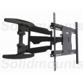"UNIVERSAL SW-600 Slim 1.69"" Articulating Tv Mount, 24"" extension, 32""-75"" TV FREE SHIPPING"